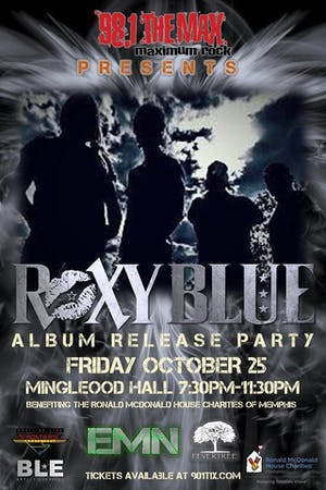 Roxy Blue Album Release Party