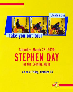 Stephen Day CD Release
