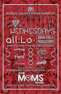 Collective Wednesdays feat. All:Lo Collective & Drum Circle Productions