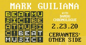 Mark Guiliana - Beat Music w/ Dandu, Chronologue