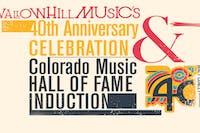 Swallow Hill Music's 40th Anniversary Celebration
