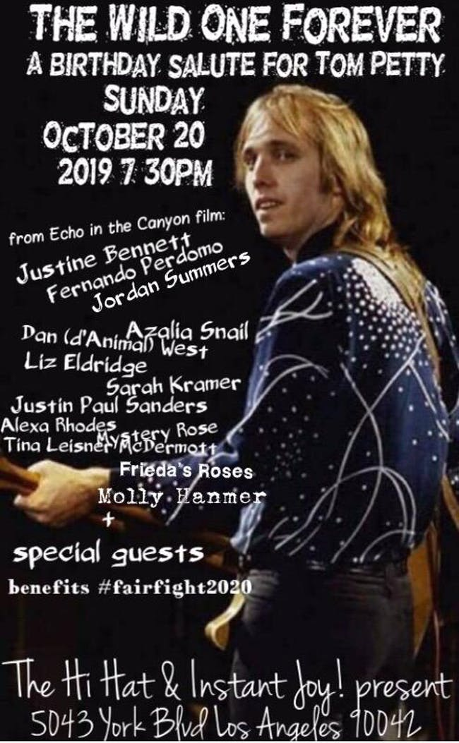Tom Petty Birthday Salute ft. Justine Bennett & More Benefitting Fair Fight