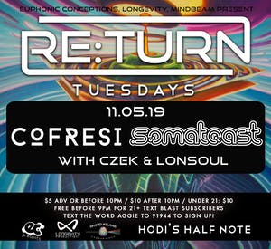 RE:Turn Tuesday feat. Cofresi & Somatoast w/ Czek & LonSoul