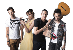 JENNY & THE MEXICATS with Bang Data