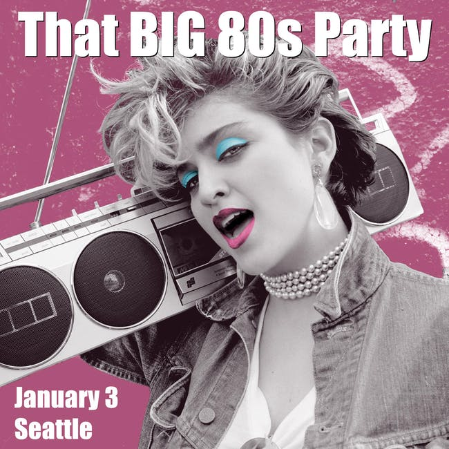 THAT BIG 80'S PARTY