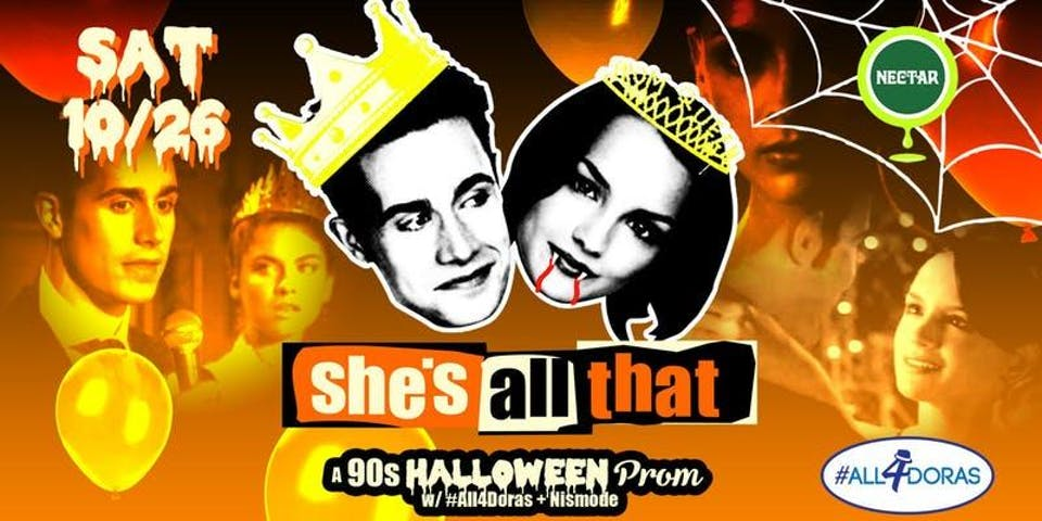She's All That: A '90s Halloween Prom Party