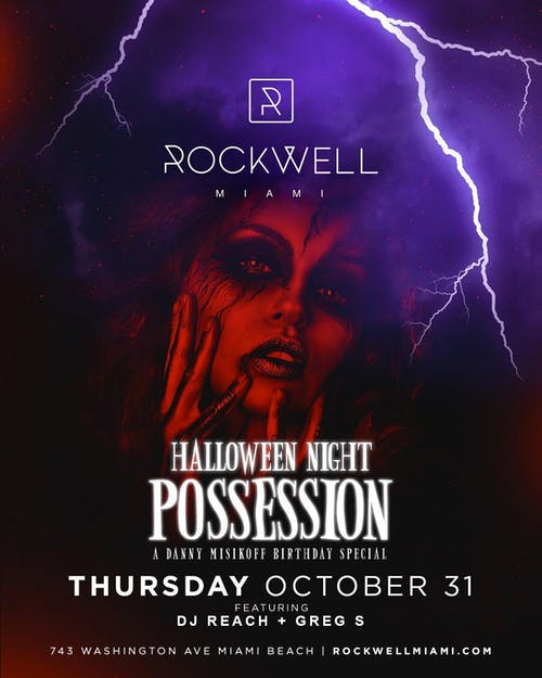 Possession at Rockwell Halloween 10/31