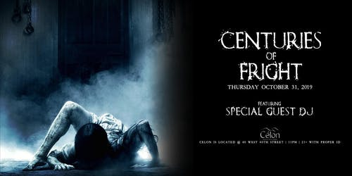 Centuries of Fright at Célon Halloween 10/31