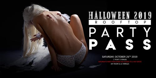 Halloween Rooftop Party Pass 10/26