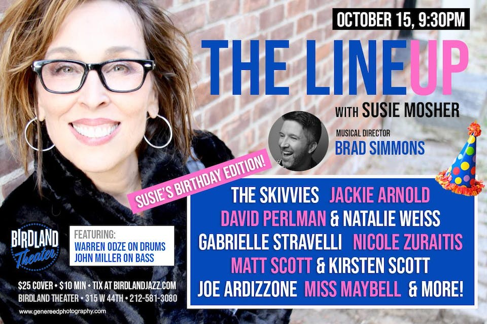 The Lineup with Susie Mosher: Birthday Edition!