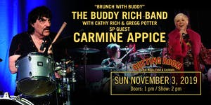The Buddy Rich Band with Cathy Rich, Gregg Potter, & Carmine Appice