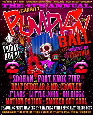 The 4th Annual Pumpkin Ball - Dia De Los Muertos w/ Soohan & more!
