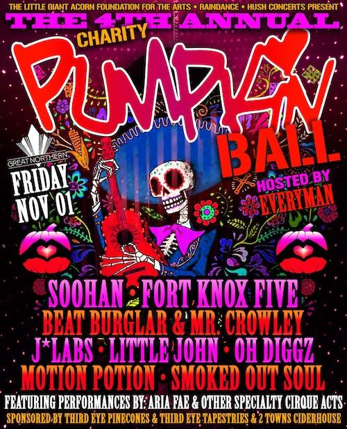 The 4th Annual Pumpkin Ball - Dia De Los Muertos w/ Soohan & more!