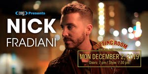 CEG Presents Nick Fradiani