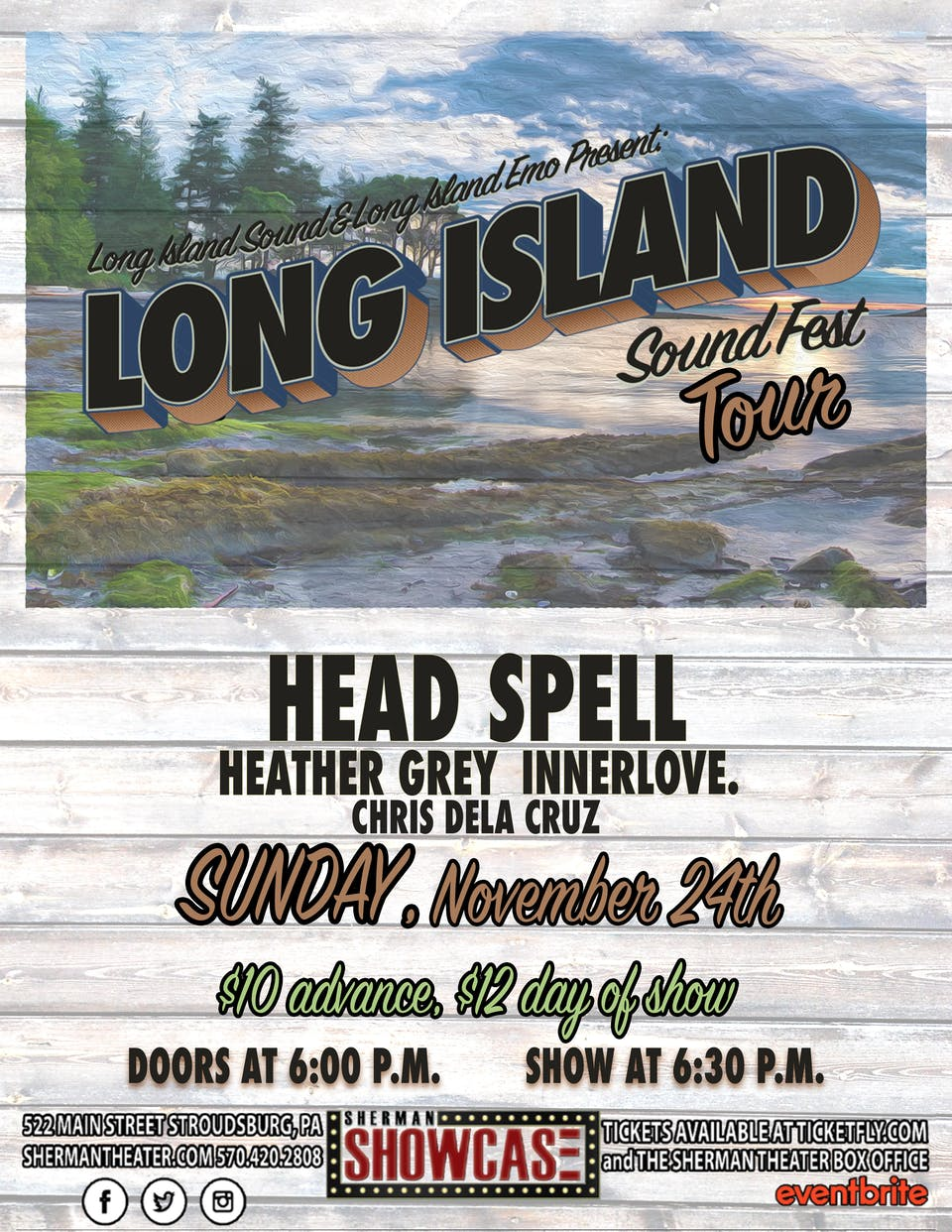 Long Island Sound Fest Tour