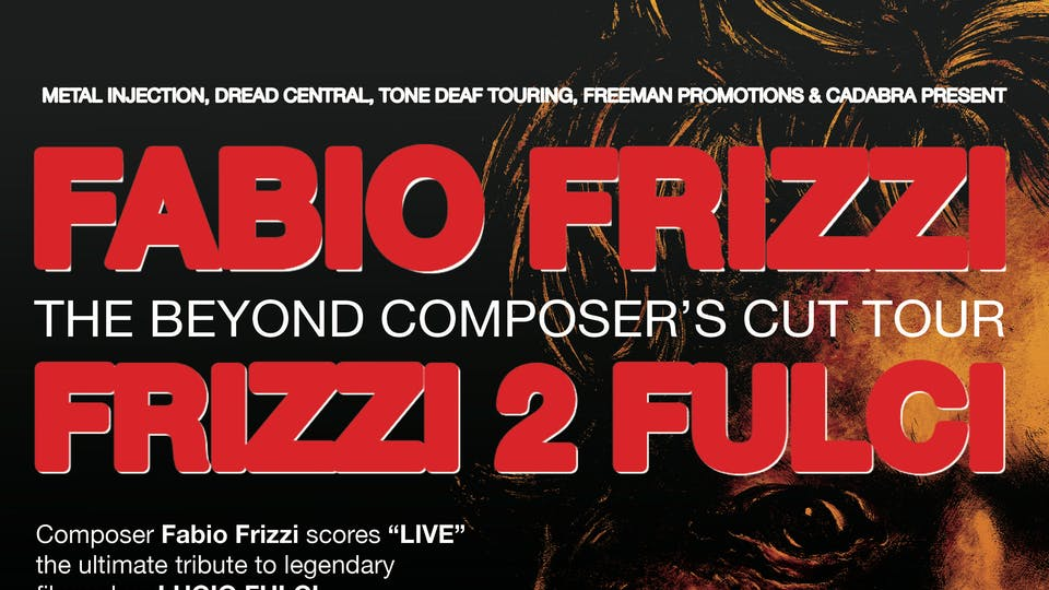 Fabio Frizzi performing the live score to THE BEYOND + FRIZZI 2 FULCI