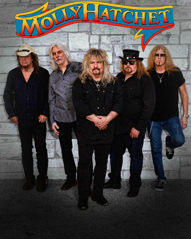 Molly Hatchet: National Touring Band!  Standing Room Available - Buy Now!