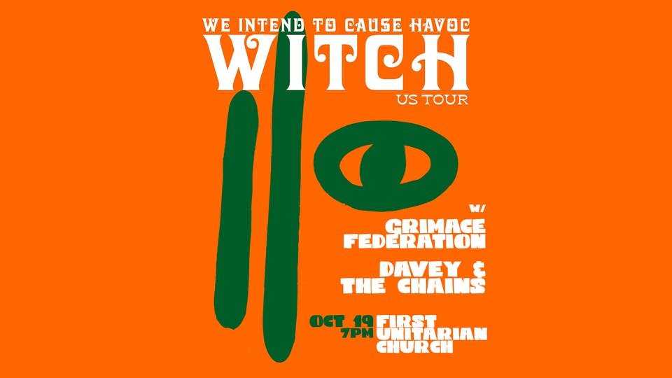 W.I.T.C.H.  ~ Grimace Federation~ Davey and the Chains