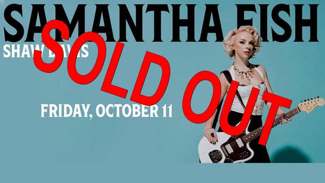 Crossroads KC Presents Samantha Fish w/ Shaw Davis