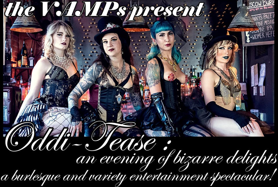 Oddi-Tease: An Evening of Bizarre Delights