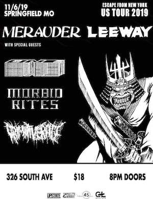 MERAUDER, LEEWAY