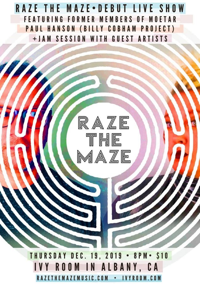 Raze The Maze (Moorea & Tarik of MoeTar) Record Release, Paul Hanson