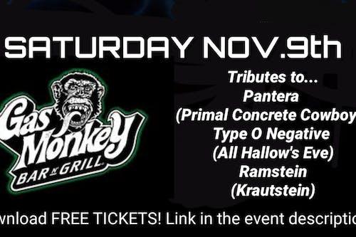 Primal Concrete Cowboys (Pantera Tribute)