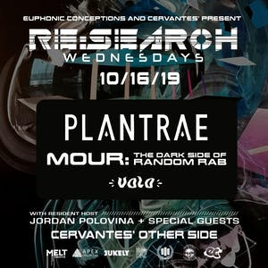 RE:Search feat. Plantrae and MOUR (Dark Side of Random Rab) w/ Volo