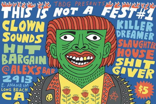 This is Not a Fest #1: Clown Sounds, Hit Bargain, Killer Dreamer & more