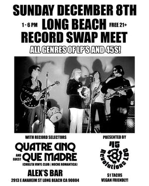 Long Beach Record Swap
