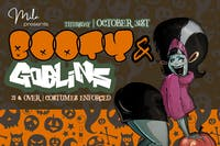 Booty And Goblins (Halloween Hip Hop Party)