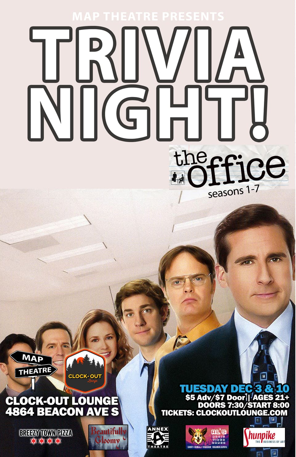 The Office (S.1-7) Trivia Encore