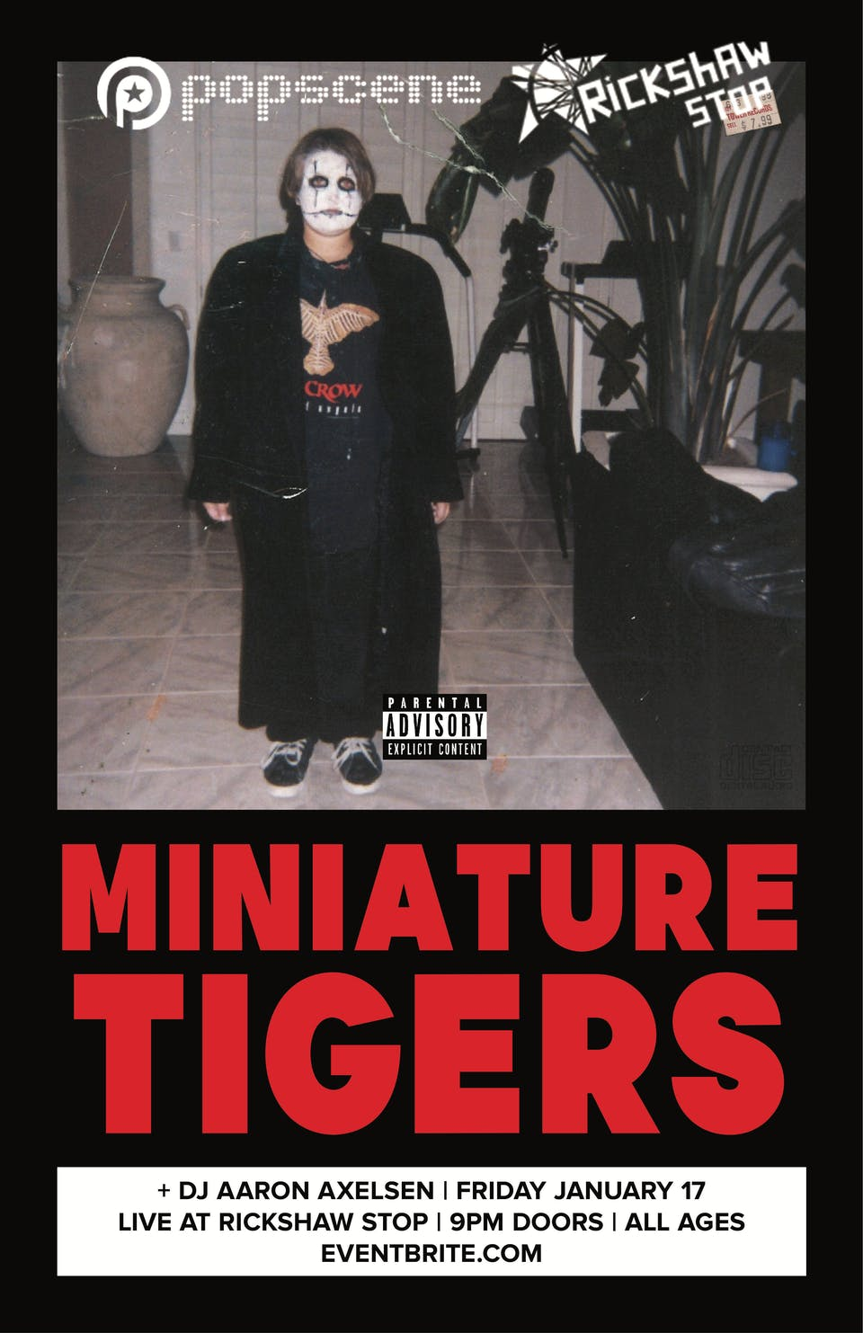 MINIATURE TIGERS with support tba