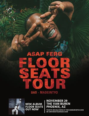 A$AP FERG – FLOOR SEATS TOUR