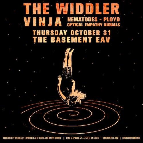 The Widdler, Vinja, Nematodes, Ployd at The Basement