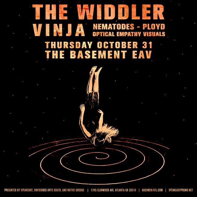 The Widdler, Vinja, Nematodes, Ployd at The Basement