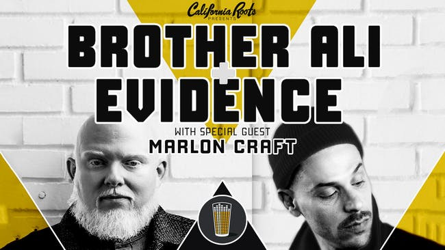 Brother Ali & Evidence with Marlon Craft