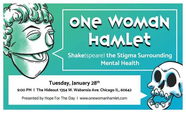 One Woman Hamlet