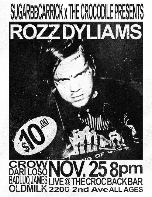 Rozz Dyliams @ The Back Bar