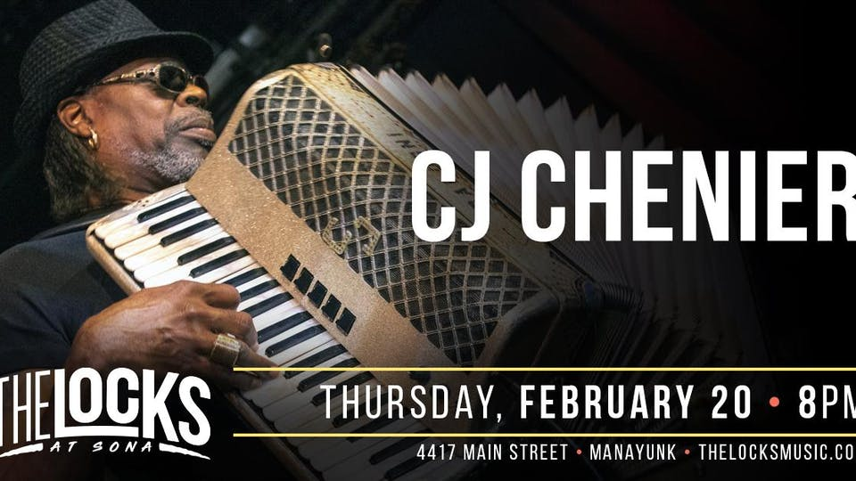 CJ Chenier - Dance Party!