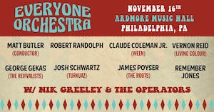 Everyone Orchestra ft. special guest Robert Randolph