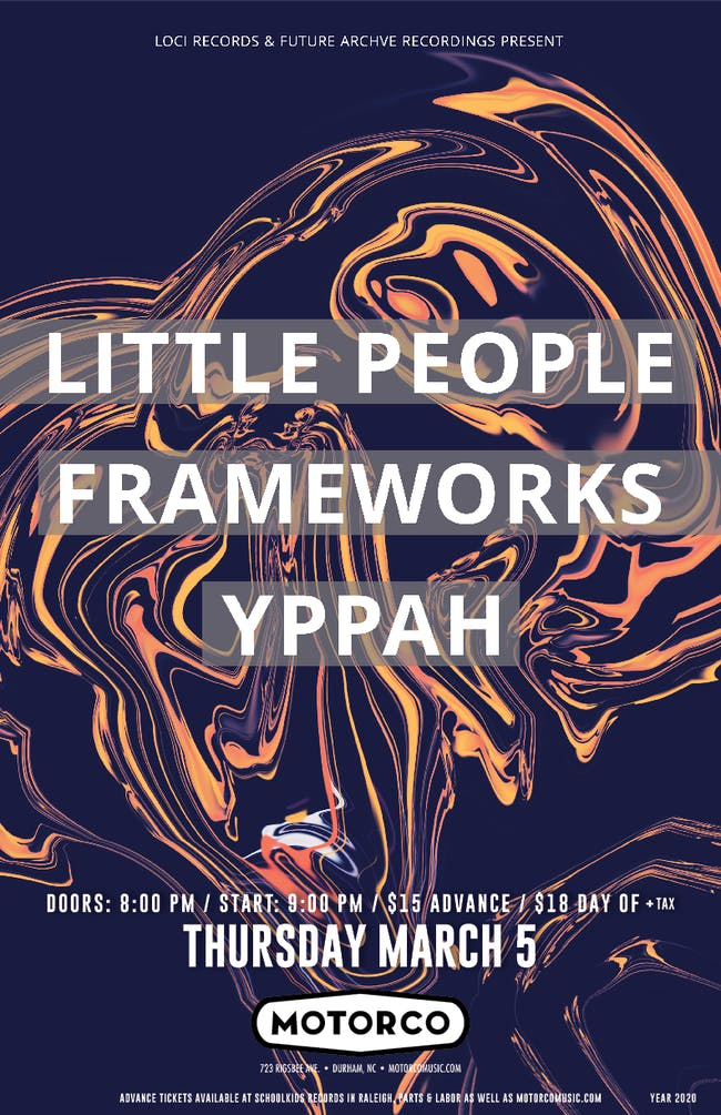 LITTLE PEOPLE / FRAMEWORKS with Yppah