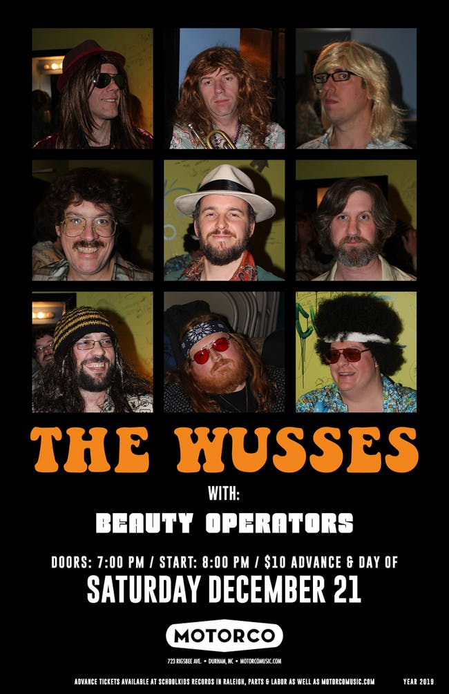 THE WUSSES / Beauty Operators