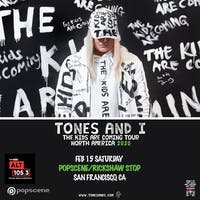 TONES AND I  with support TBA
