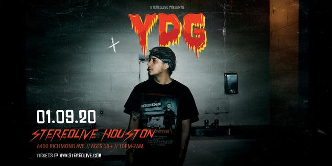 YDG - Stereo Live Houston