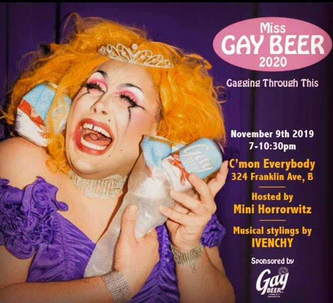 Miss Gay Beer 2020
