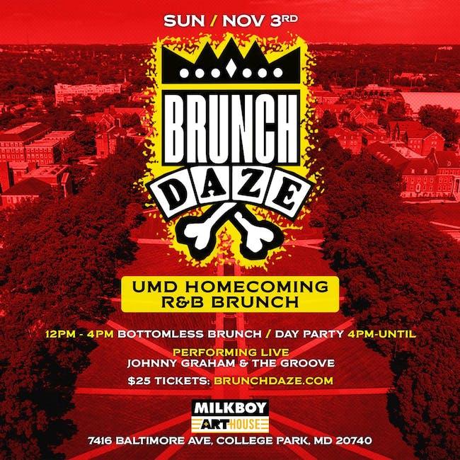 Brunch Daze: UMD Homecoming R&B Brunch