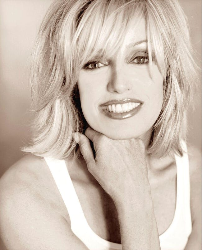 "Susan Anton ""Up Close and Personal """