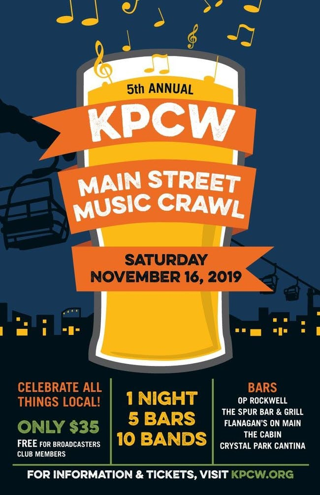 KPCW Main Street Music Crawl