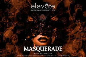 Masquerade Bash at Elevate Nightclub Halloween